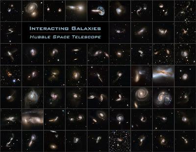 Catálogo de galaxias en colisión