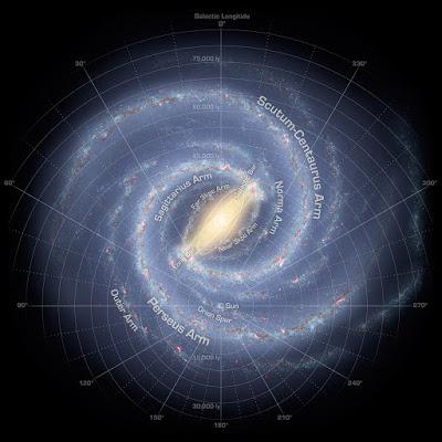 Nuevo mapa para la Vía Láctea