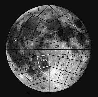 Secciones de la Luna para la Humanidad