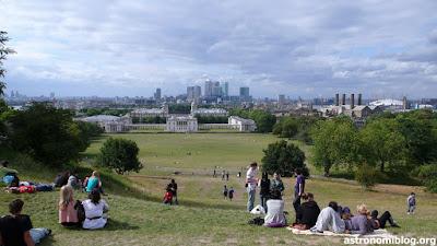 Vista panorámica de la ciudad de Londres