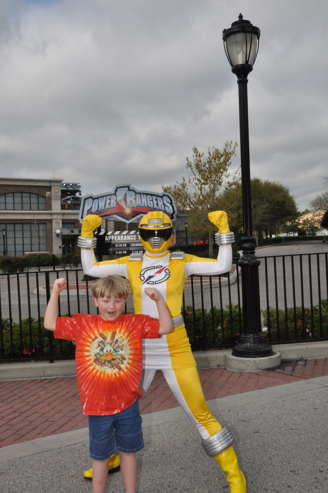 Williams family power rangers meet and greet ends august 7 2010 at we have met and greeted the power rangers on almost every visit to the walt disney world resort so it will be a bit unusual not hearing the roar of their m4hsunfo