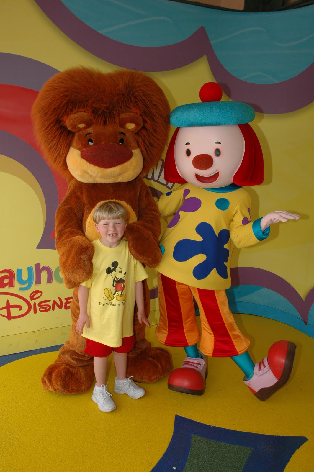 Williams Family: Meeting the Characters from Playhouse Disney
