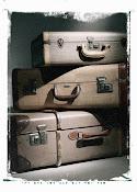 Las maletas siempre hechas.