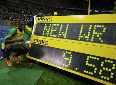 Bolt 9.58 !