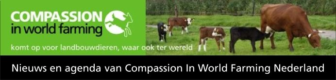 Compassion in World Farming, nieuws en agenda
