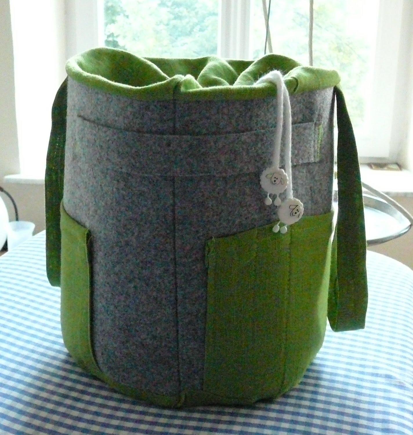 projekte projekte neuer strickkorb. Black Bedroom Furniture Sets. Home Design Ideas