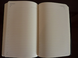 picture relating to Large Daily Planner identified as Plannerisms: Experimenting with Weighty Moleskine working day for each webpage