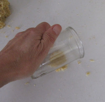 corn meal dough