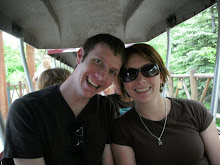 at the zoo on our 2nd year anniversary!