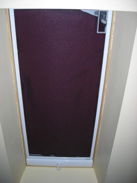 vegetalion how i made light blocking shades for a. Black Bedroom Furniture Sets. Home Design Ideas