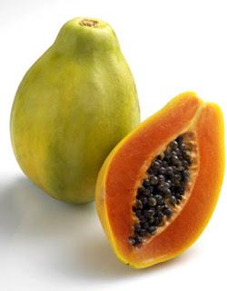 dengan pupuk organik nasa buah Pepaya rasanya tambah manis, tahan lama
