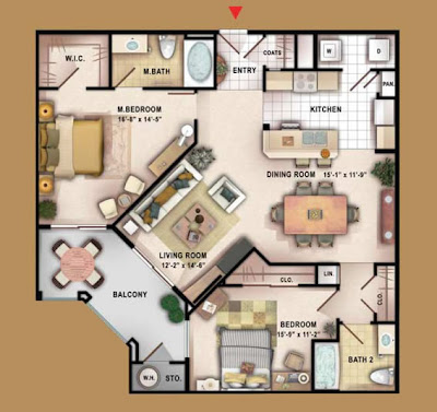 Golden Nugget Las Vegas Floor Plan besides 9940 S Las Vegas Blvd Las Vegas Nv 89183 201706 150693 also Grandview Suites Floor Plan besides Las Vegas Tourist Attractions Map additionally Mizner Place. on grandview las vegas 2 bedroom floor plans