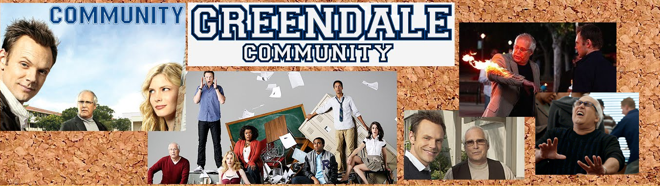 NBC's Community Starring Joel McHale and Chevy Chase