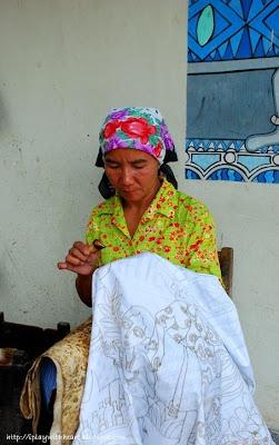 batik painter, Yogyakarta