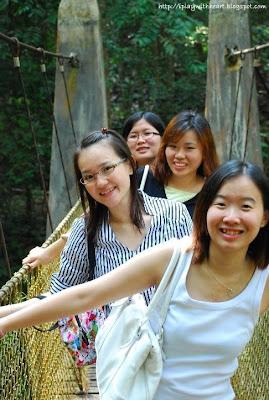 Gunung Lambak 南峇山吊桥