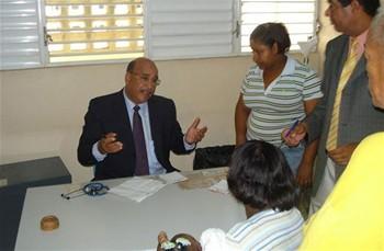 El Secretario de Salud ofreció consulta por huelga médicos en el Este