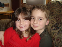 My GRANDkids Hallie and Sean