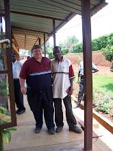 a new friend in Cyangugu, Rwanda