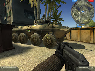 Battlefield 2 demo with vehicles