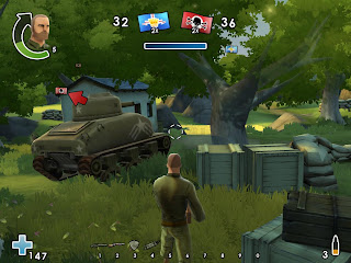 Battlefield Heroes - third-person shooter with vehicles