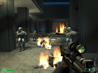 Single-player FPS - Area 51