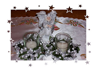 angel Christmas centerpiece