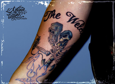 The Welder Tattoo ...