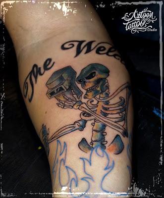 Welding Welder Tattoos