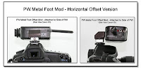 PJ1086: PW Metal Foot Mod - Horizontal Offset Version