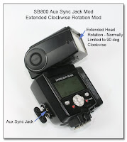 AS1010: SB800 Aux Sync Jack Mod with Extended Clockwise Head Rotation Mod