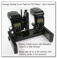 DF1017: Always Ready Dual Flash & PW Stand - New Version