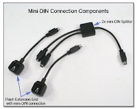 OC1013: Mini-DIN Connection Components