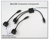 OC1013: Mini-DIN Connection Components