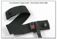 LT1007: Lens Mounted Trigger Cable - Dual Switch, Dual Cable