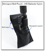 PJ1017 (DF1032): Monopod Belt Pouch