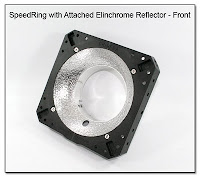 PJ1088: SpeedRing with Attached Elinchrome Reflector - Front View