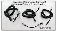SC1017E: Heavyweight, Mediumweight, and Lightweight Coiled Connection Cables