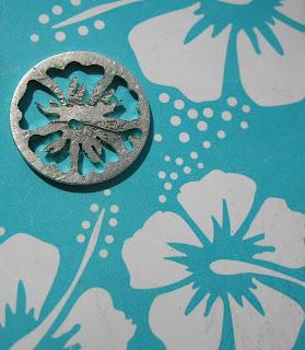 handmade pendant hibiscus flower jewellery