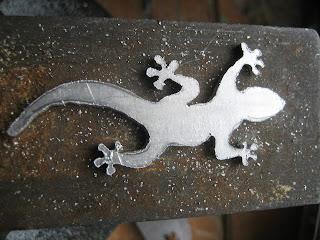 lizard pendant handmade jewellery