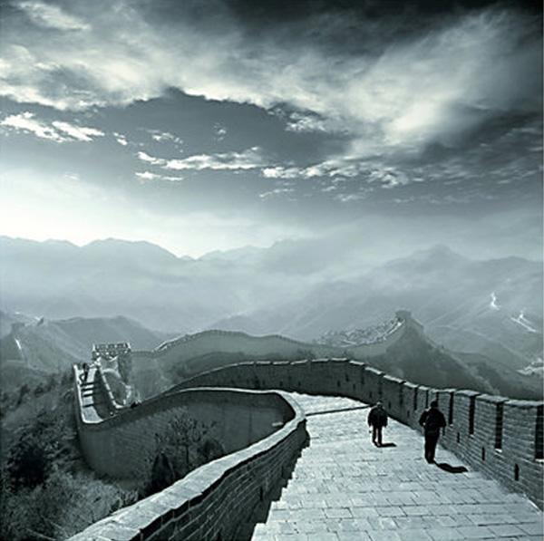 A grande muralha da china, comprimento total: 8.850 km. 知子莫若父