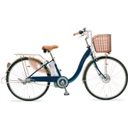 Sanyo electric hybrid bicycle recharges as you ride
