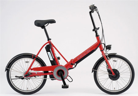 Sanyo announces folding electric hybrid bicycle