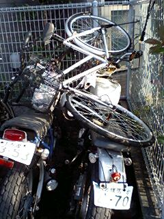 "Have you ""adopted"" an abandoned bicycle in Japan?"
