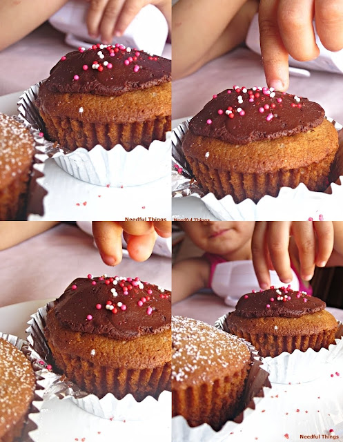 Needful Things: Baking With Dorie: Milk Chocolate Mini-Bundt Cakes