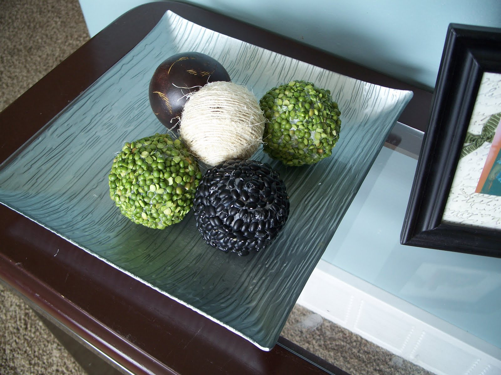 Funky craft mama home decor balls