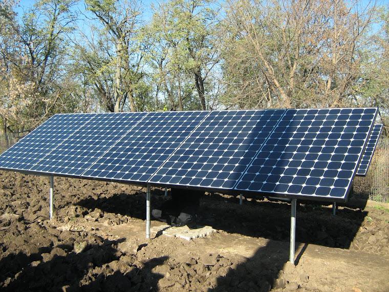 Sistem de alimentare cu energie electrică produsă prin intermediul energiei solare