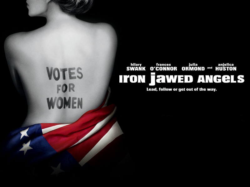iron jawed angels paper Last week my women's history class viewed the movie iron jawed  a hot bath  while thinking about a certain male newspaper cartoonist.