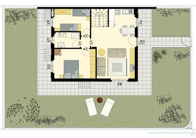 Nuova domus for 4 piani di camera da letto a due piani