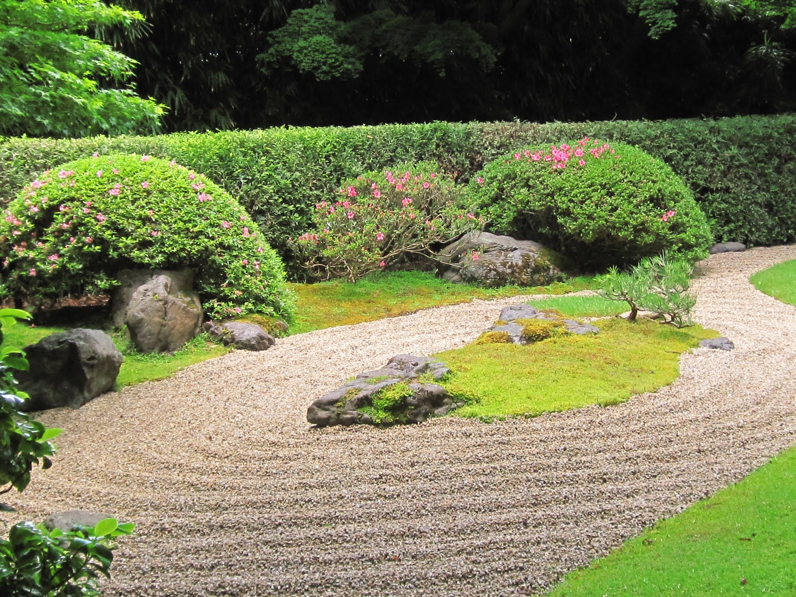 Japanese Zen Garden Water Zen Garden The Gravel