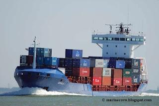 Немецкий контейнеровоз Cepheus J